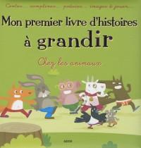 MON PREMIER LIVRE D'HISTOIRES A GRANDIR