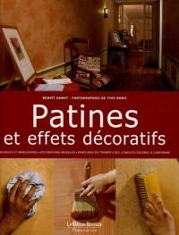 Patines et effets décoratifs
