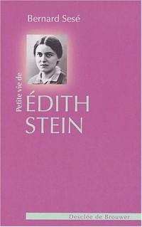 Petite Vie d'Edith Stein