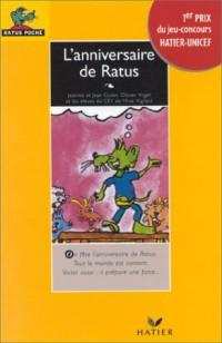 L'anniversaire de Ratus