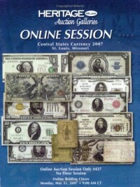 HCAA Currency CSNS St. Louis Online Sale Catalog #437