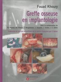 Greffe osseuse en implantologie