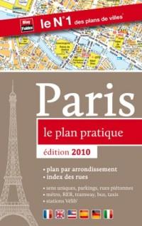 Paris le plan pratique 2010