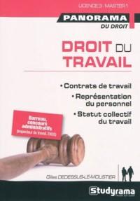 Droit du travail : Contrats de travail, représentation du personnel, statut collectif du travail