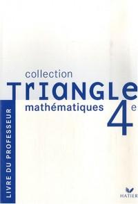 Mathématiques 4e : Livre du professeur