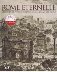 Rome Eternelle : Dessins et gravures panoramiques du XVe au XIXe siècle