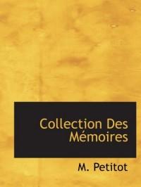 Collection Des Mémoires