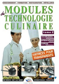Matrices modules technologie culinaire t2