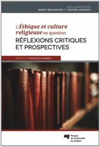 Ethique et Culture Religieuse en Question