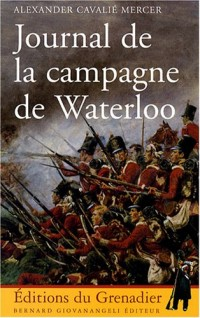 Journal de la campagne de Waterloo