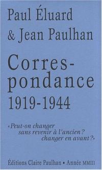Correspondance 1919-1944 :