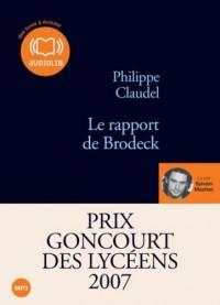 Le rapport de Brodeck - Prix Goncourt des Lycéens 2007