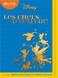 Les Chefs-d'oeuvre Disney: Livre audio 1 CD MP3  width=