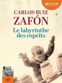 Le Labyrinthe des esprits - Le Cimetière des Livres oubliés 4: Livre audio 3 CD MP3  width=