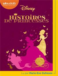 Histoires de Princesses - Livre Audio 1 CD MP3