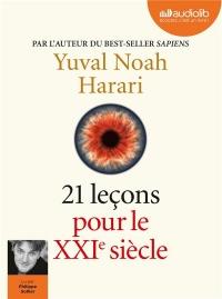 21 leçons pour le XXIe siècle: Livre audio 2 CD MP3