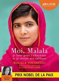 Moi, Malala: Livre audio 1 CD MP3  width=