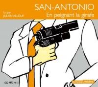 San-Antonio: en peignant la girafe  width=