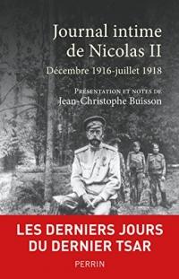 Journal intime de Nicolas II  width=