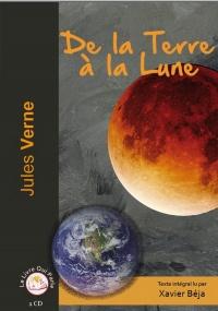 De la Terre à la Lune ( 1 CD MP3)  width=