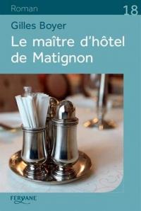 Le maître d'hôtel de Matignon  width=