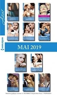 11 romans Azur + 1 gratuit (n°4081 à 4091 - Mai 2019)