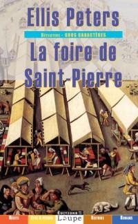 La Foire de saint Pierre (grands caractères)  width=